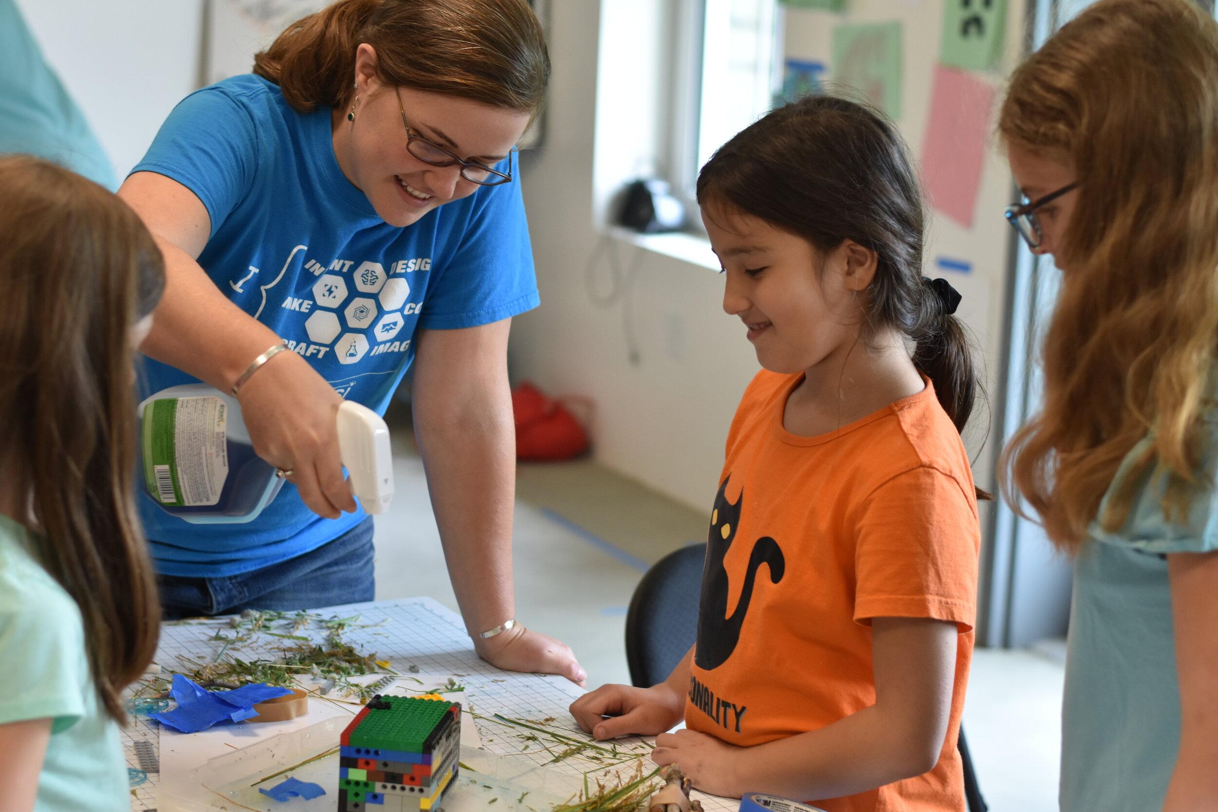 Photo: Maddie Ellms - Inventor's Camp for Girls - Summer 2019