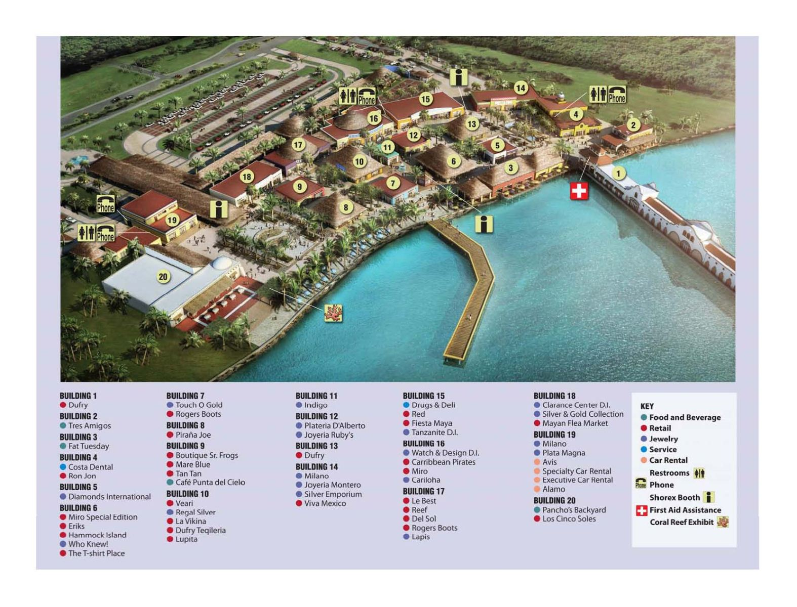 map courtesy of puerta maya