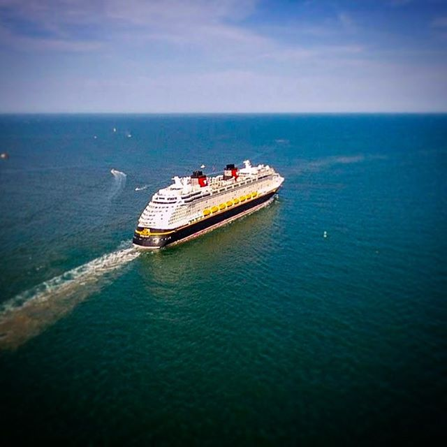 Disney Fantasy on it's way to Castaway Cay to have a great day! #disney #disneycruise #disneycruiseline #disneyfantasy #funashore #cruiseship #vacationmode #cruiselife #disneylife #cruisevacation #sailaway