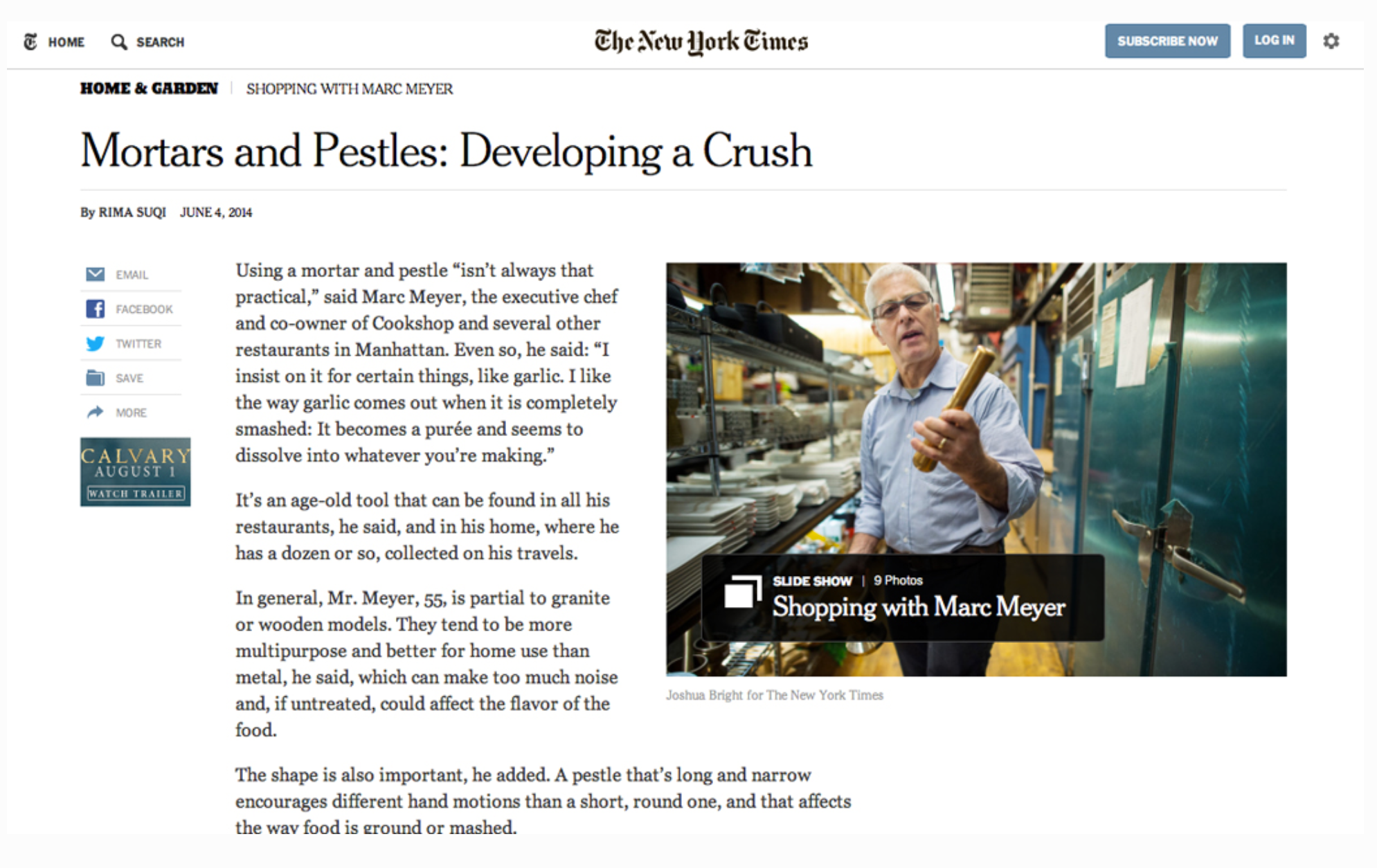 Hew Press New York Times