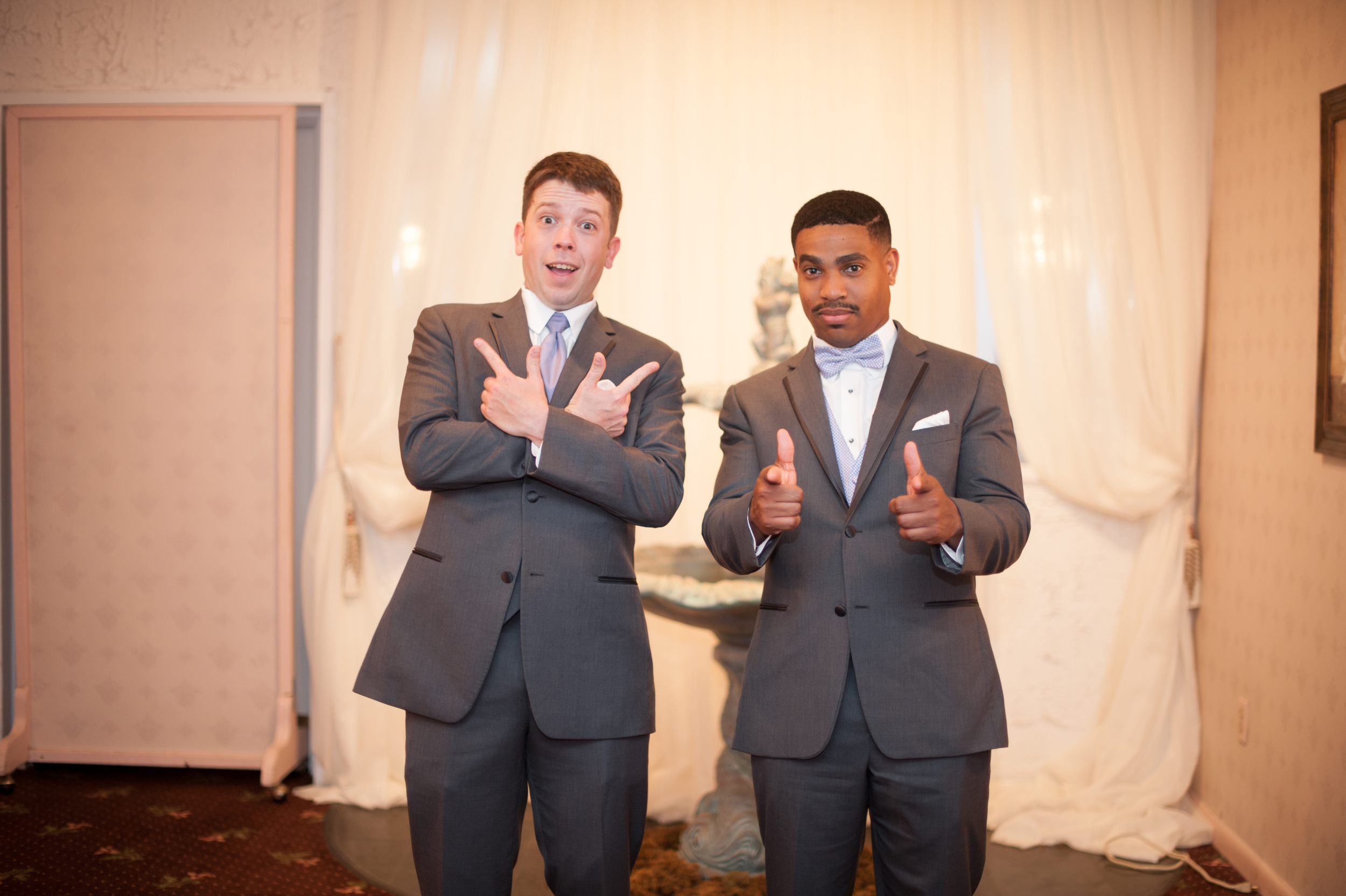 groom and groomsmen | hampton roads wedding photographer