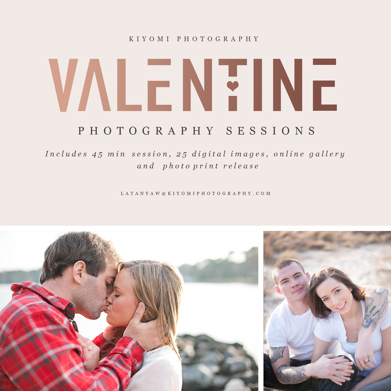 Valentines Day sessions