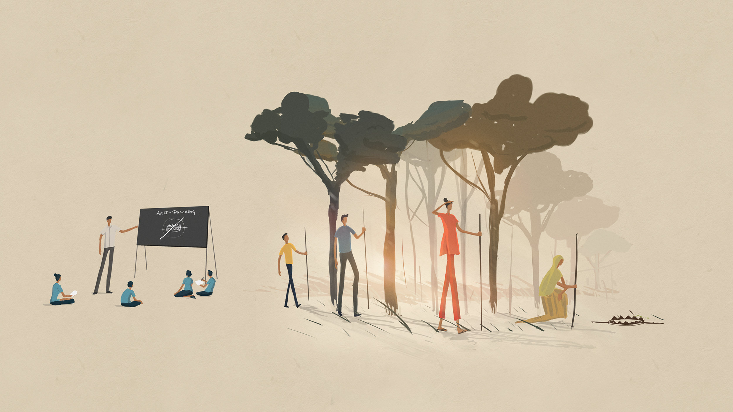 25th anniversary illustrations