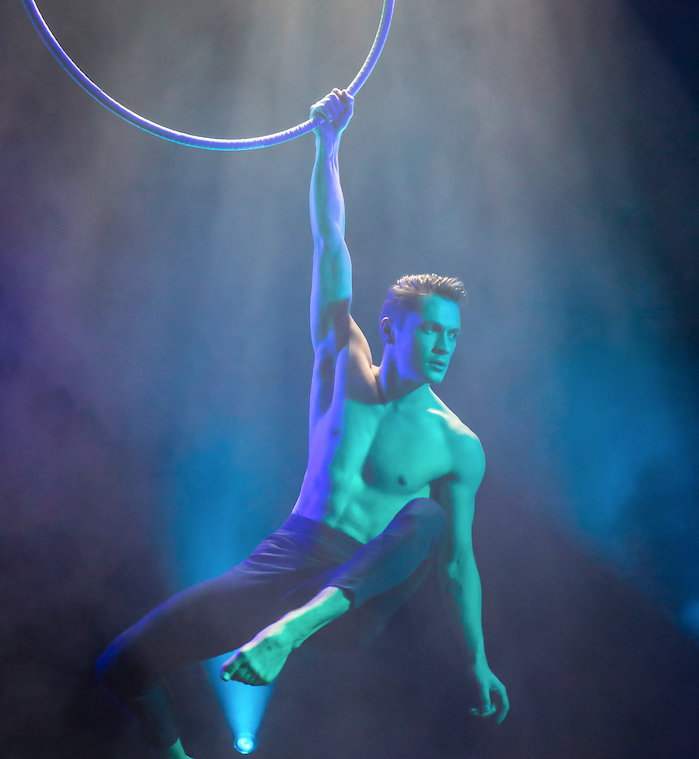 Spencer Craig - Aerial Hoop in various productions for GOP Varieté in Germany and Roncalli Prize at Young Stage Festival - Joe has an experienced and analytical eye that translates into straight forward and coherent artistic advice and direction.