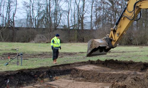 begeleiding laagsgewijs ontgraven
