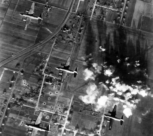 luchtbombardement