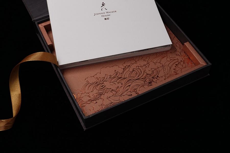 Packaging for Johnnie Walker Diageo