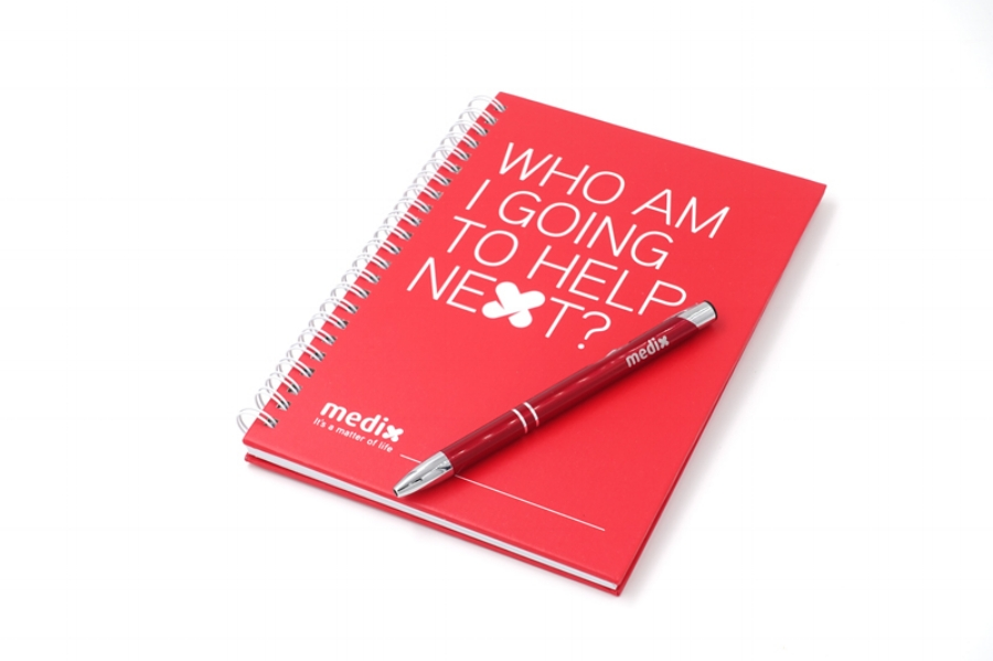 Medix notebook collateral