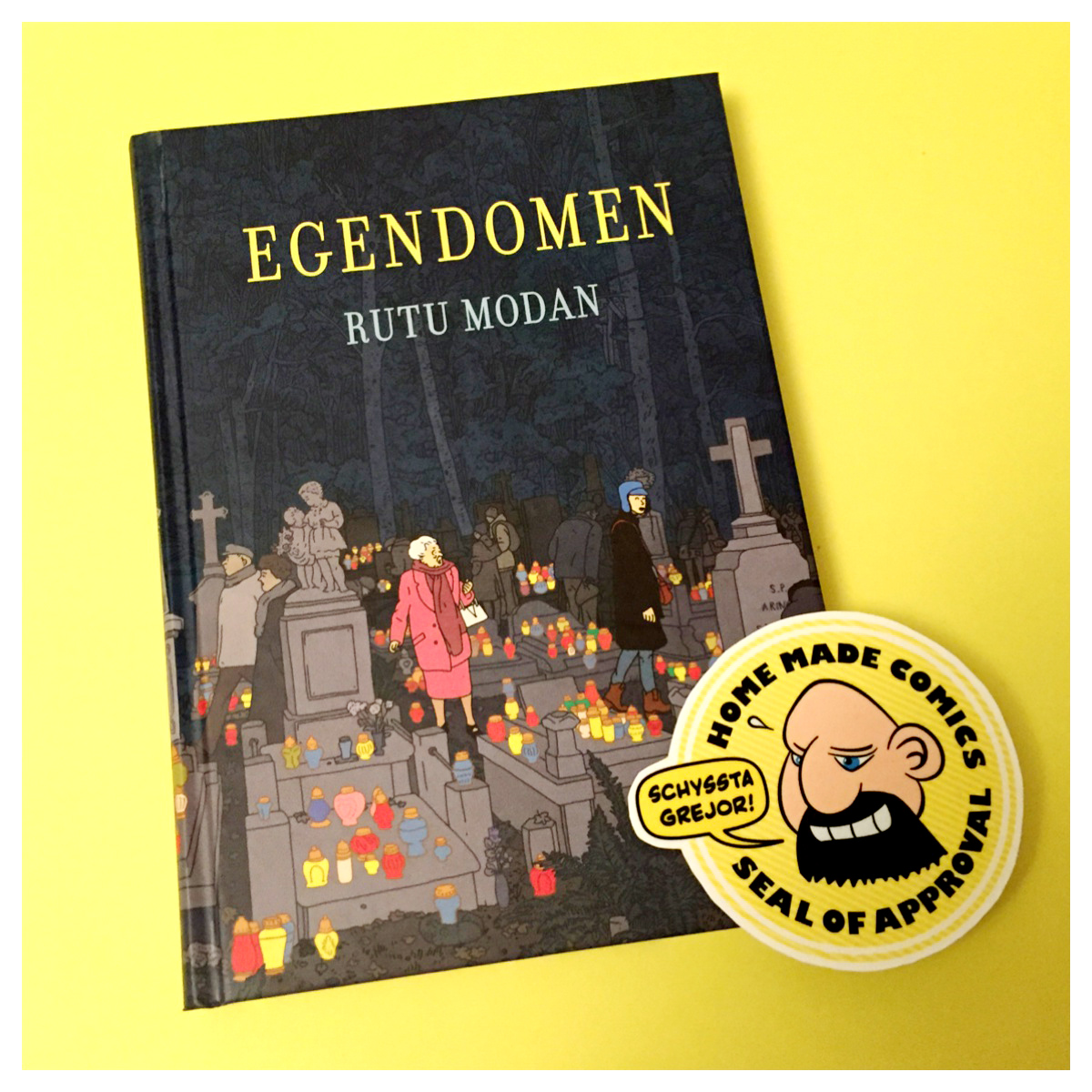 Home Made Comics Seal of Approval #138. Egendomen av Rutu Modan utgiven av Placebo Press 2016.