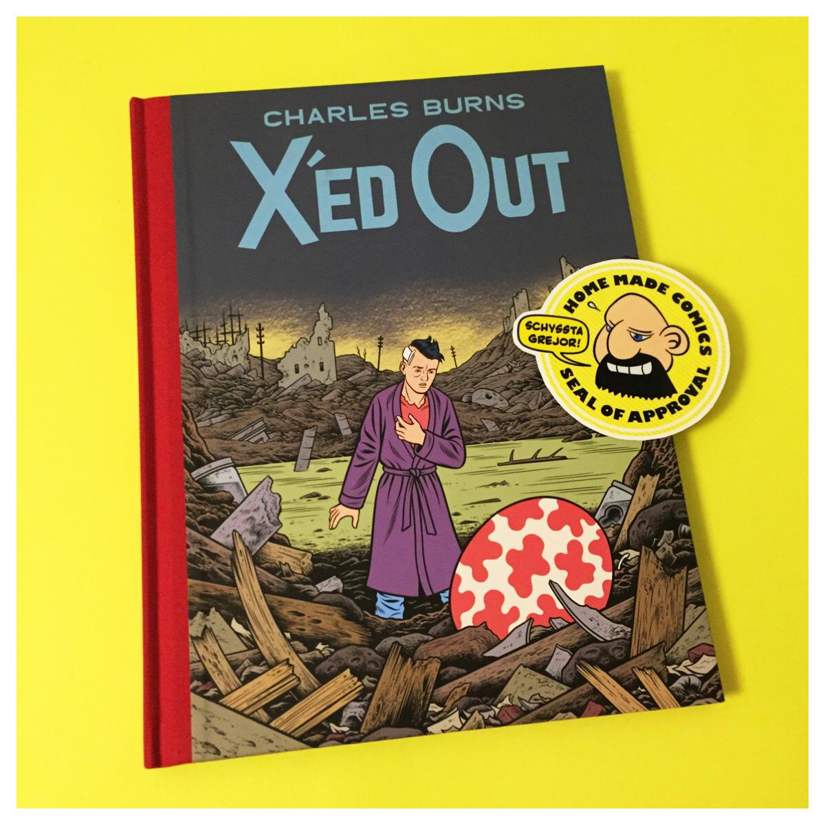 Home Made Comics Seal of Approval #174. X'ed Out av Charles Burns utgiven av Pantheon 2010.