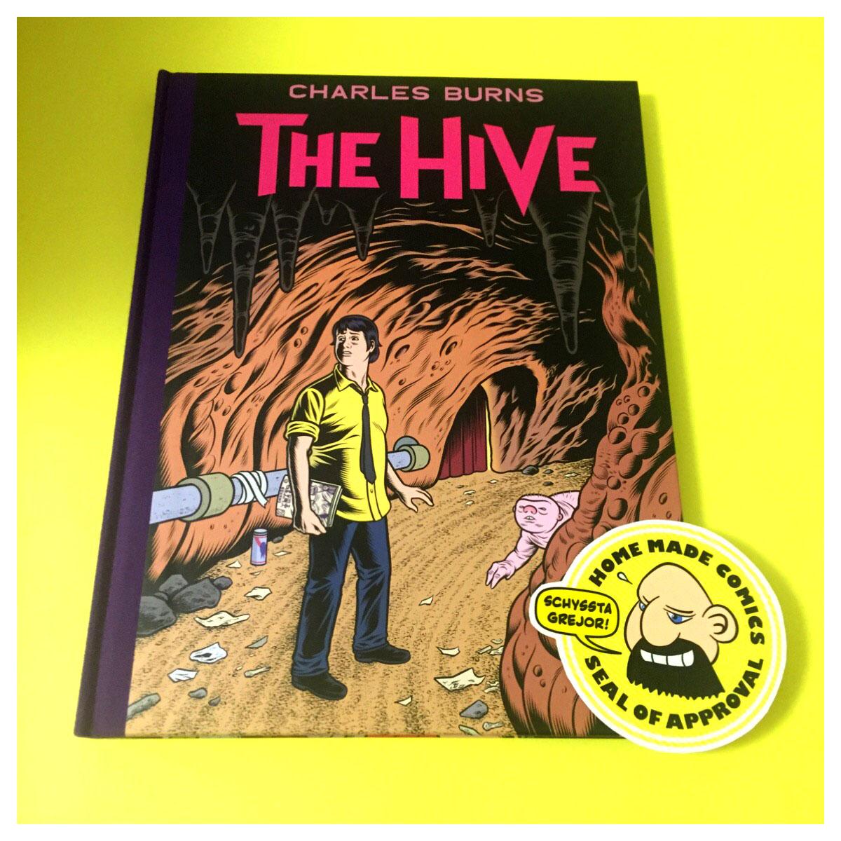 Home Made Comics Seal of Approval #183. The Hive av Charles Burns utgiven av Pantheon 2012.