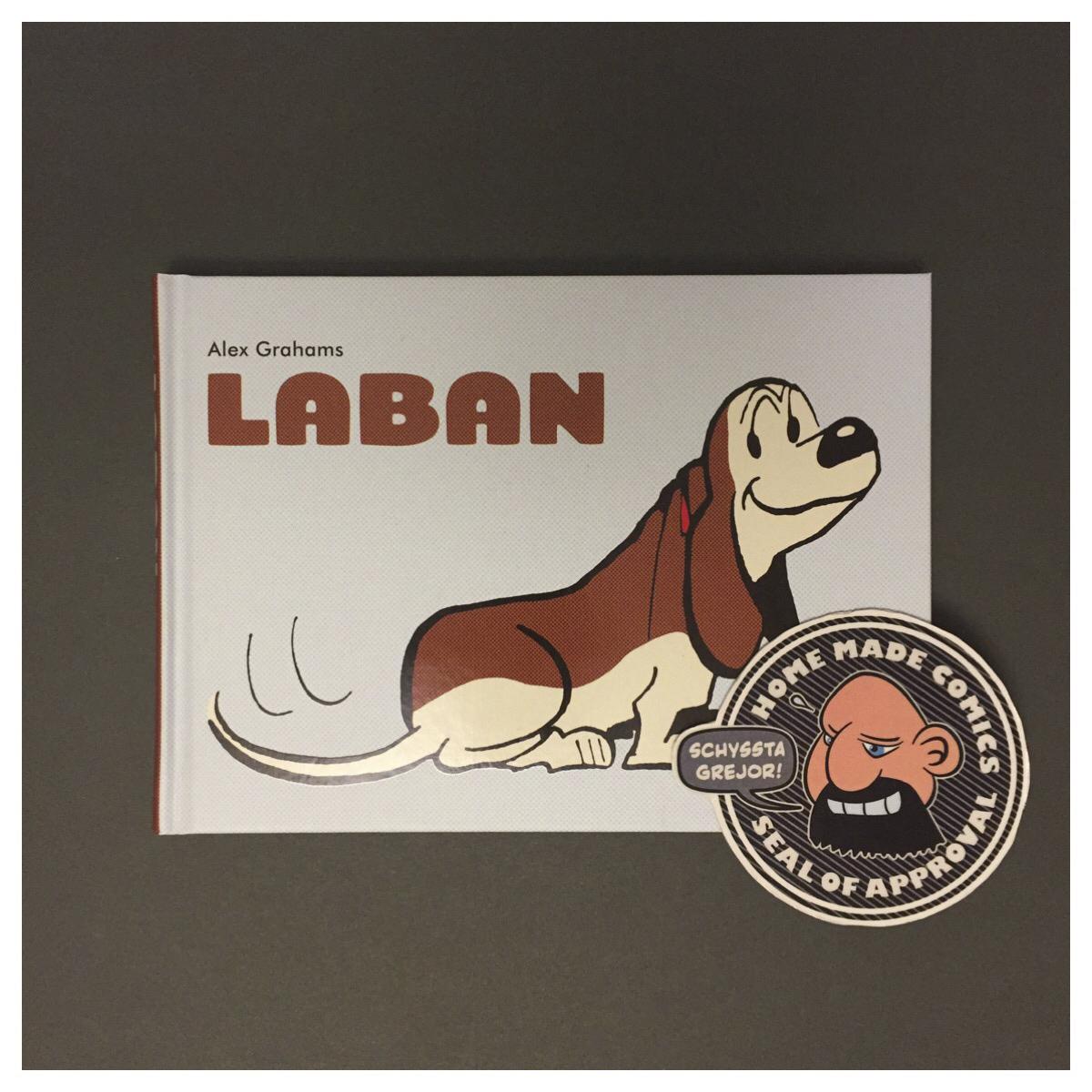 Home Made Comics Seal of Approval #215. Laban av Alex Grahams, Arran Keith, och Michael Martin utgiven av Egmont 2017.