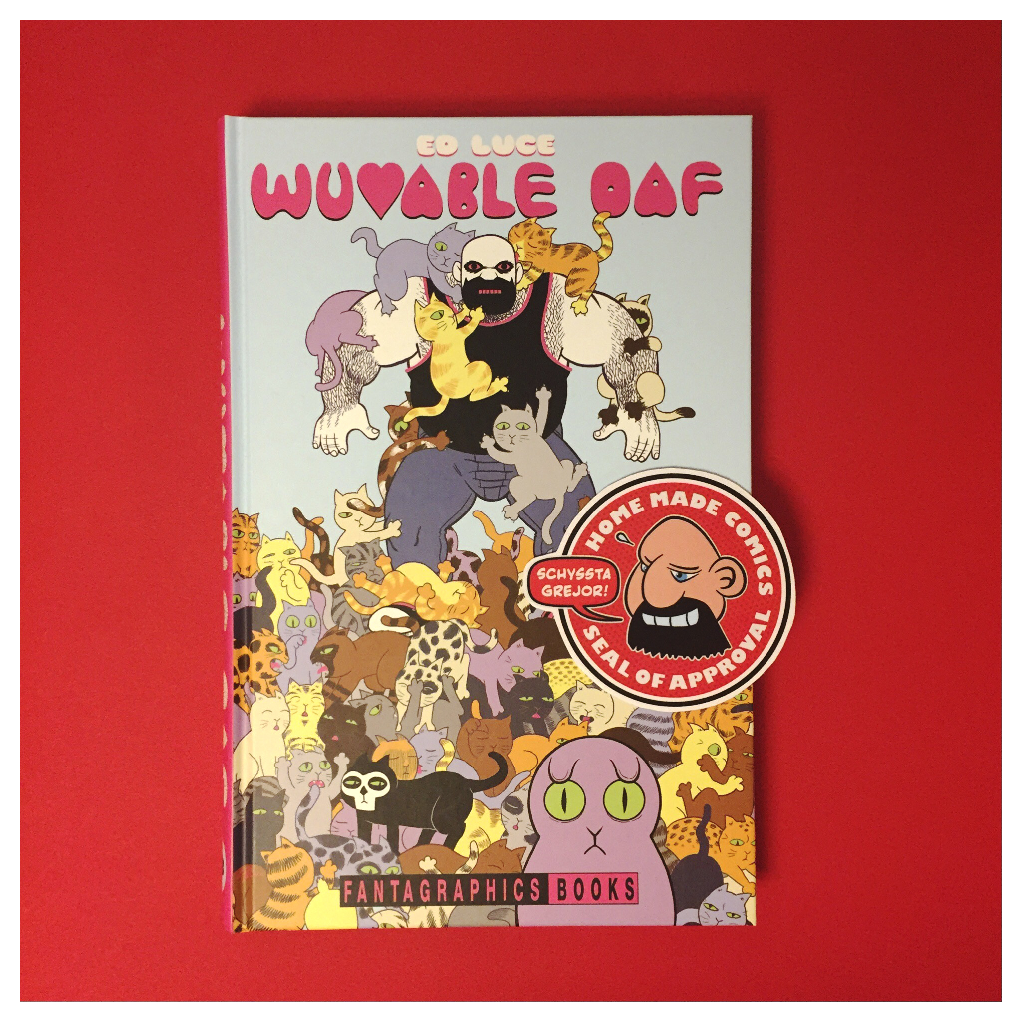 239 Home Made Comics Seal of Approval #239. Wuvable Oaf av Ed Luce utgiven av Fantagraphics 2015.
