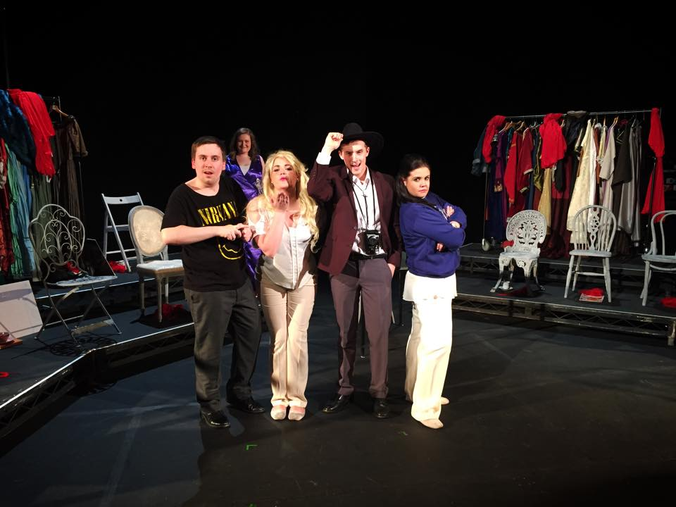 The cast of Anna Nicole - excerpts as part of a concert of contemporary scenes (Music Theatre Wales/RWCMD 2015)
