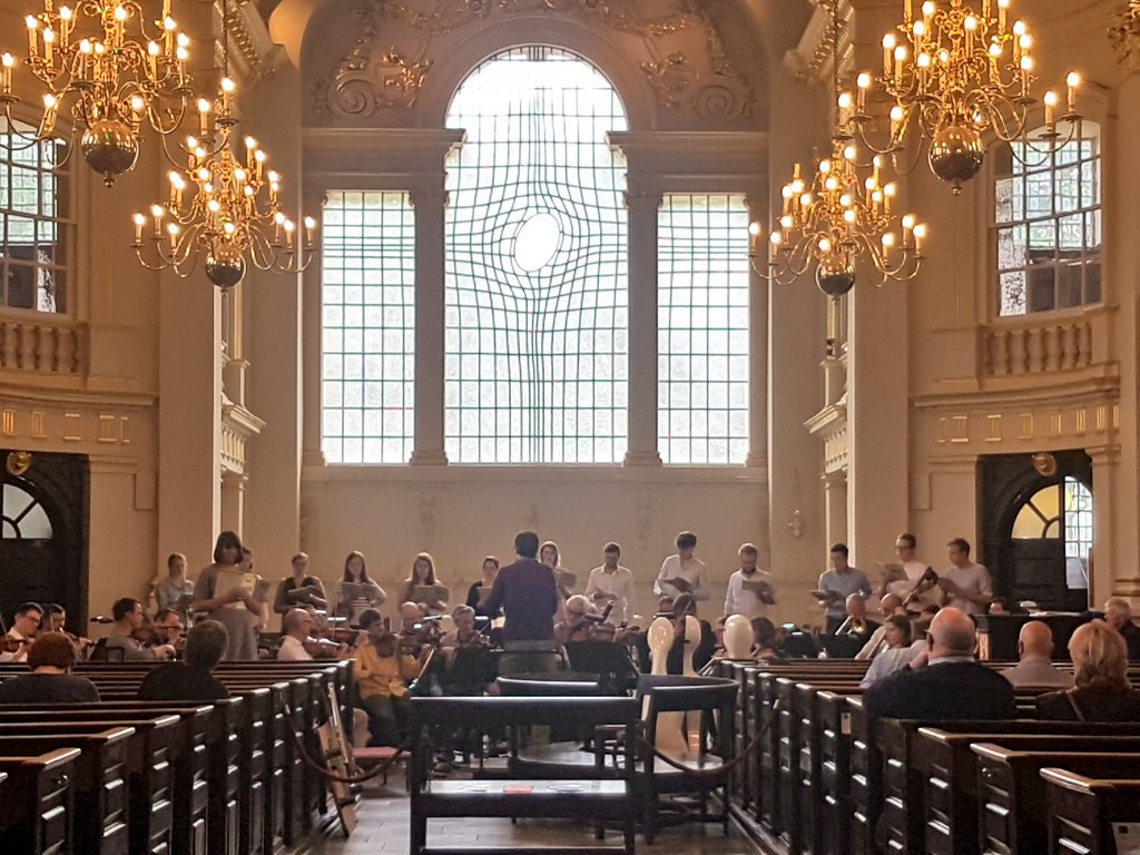 Emily performing as the Soprano 1 soloist in Mozart's Great Mass in C Minor at St Martin-in-the-Fields, with The Academy of St Martin-in-the-Fields, 2017