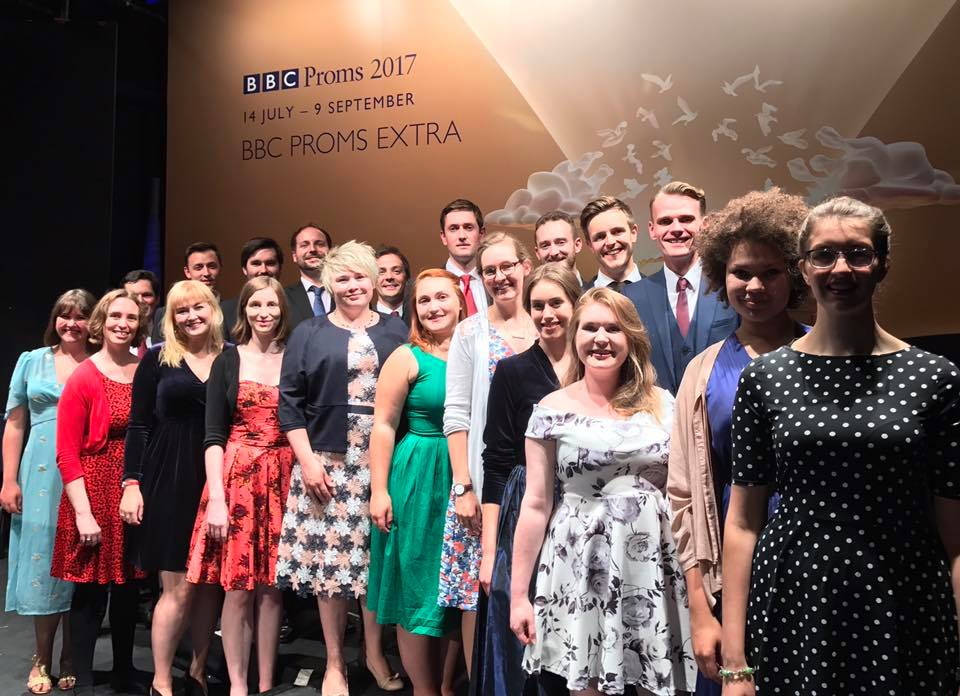 Emily with Blossom Street, Radio 3 Proms Extra, 2017