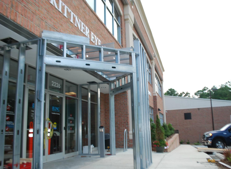 UNC Kittner Eye Center | Construction | Durham, NC