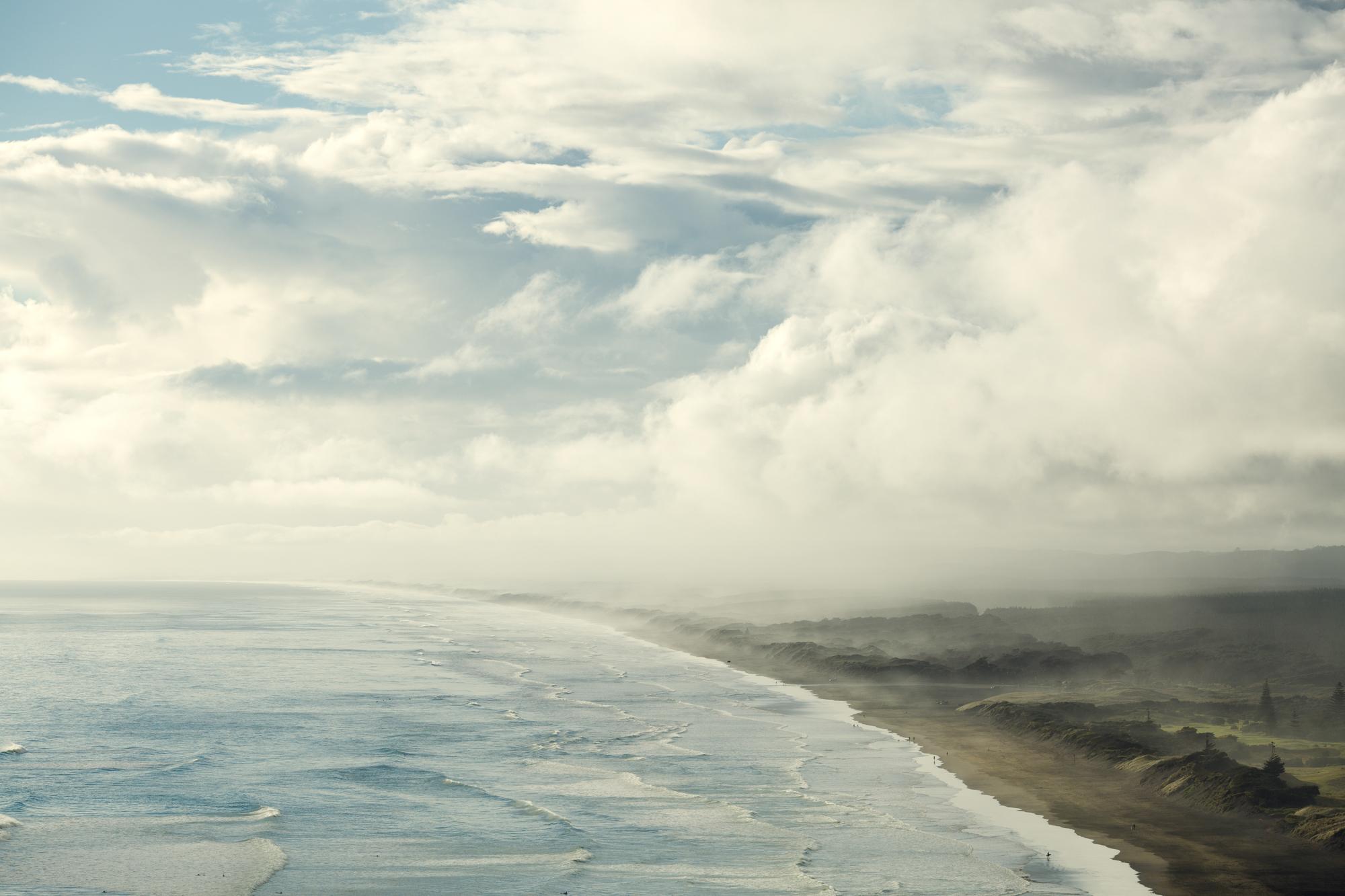 Muriwai Hill, Muriwai Beach.JPG