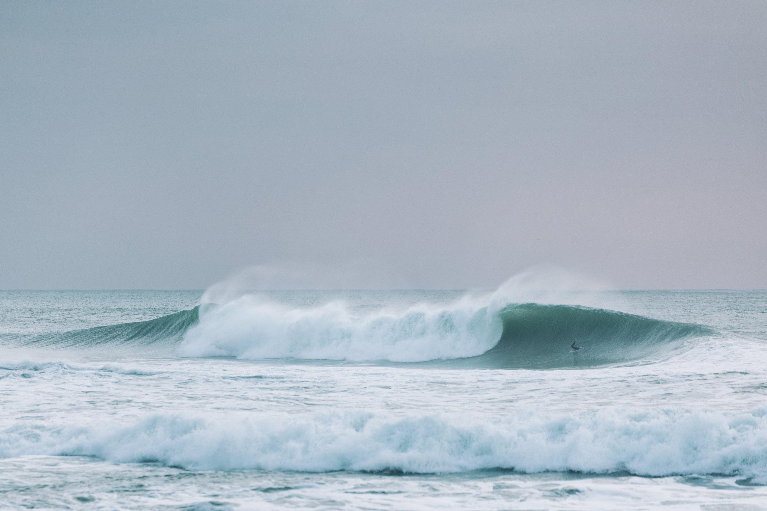 A Frame, Maori Bay, .JPG