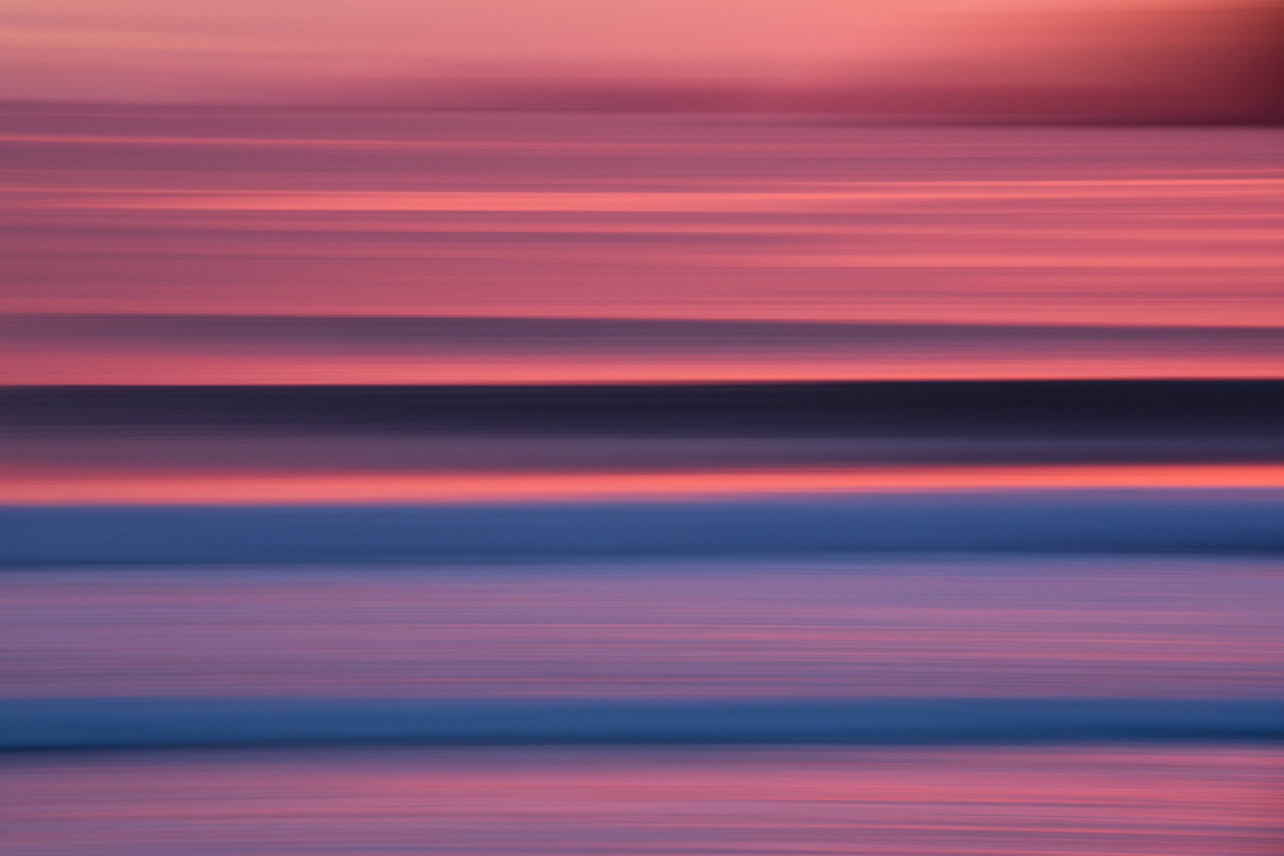 Pink sky in flight, Tairua.JPG