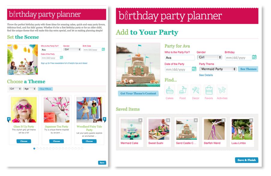 Parent Birthday Planner