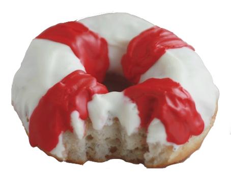 Dunkin Donut's Shark Bite