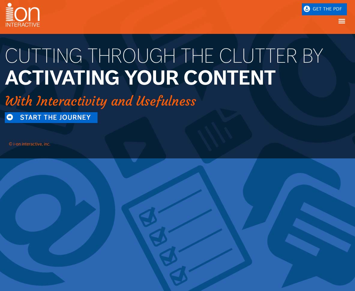 Try the UNgated interactive white paper. AKA the lead-gen conversion winner.