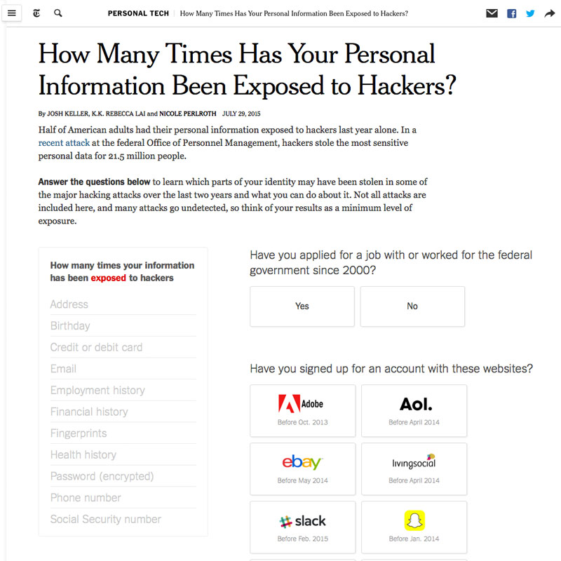 NYT_Personal_Information