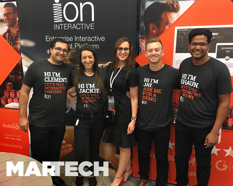 ion team at MarTech 2017