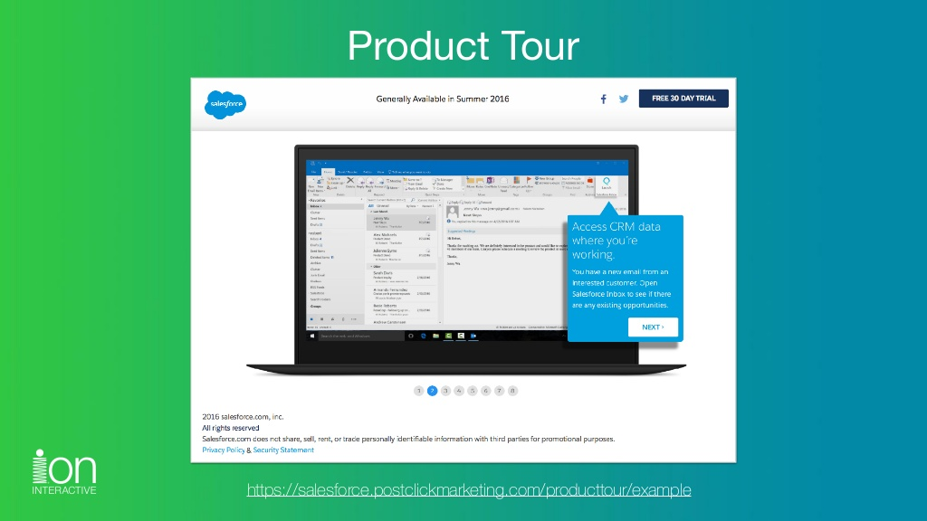 Click the image to explore the Product Tour experience.
