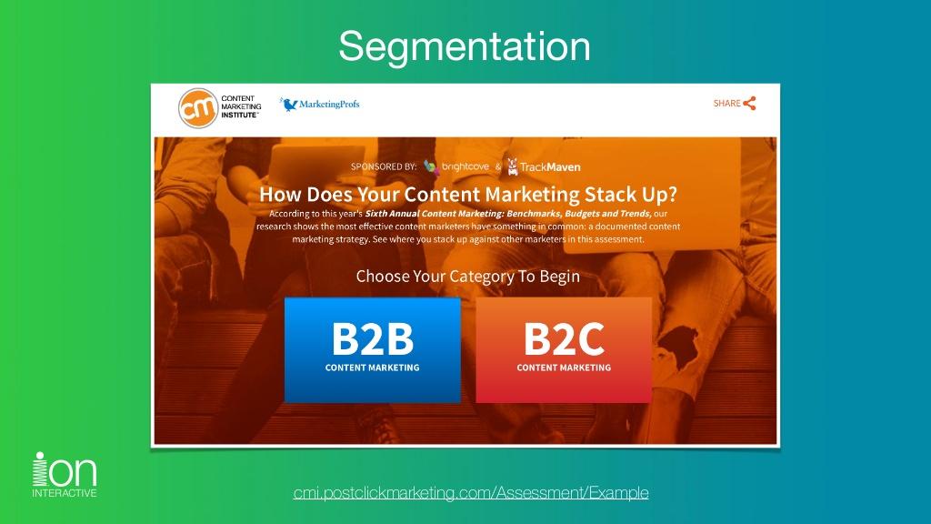 Click the image to explore the Segmentation experience.