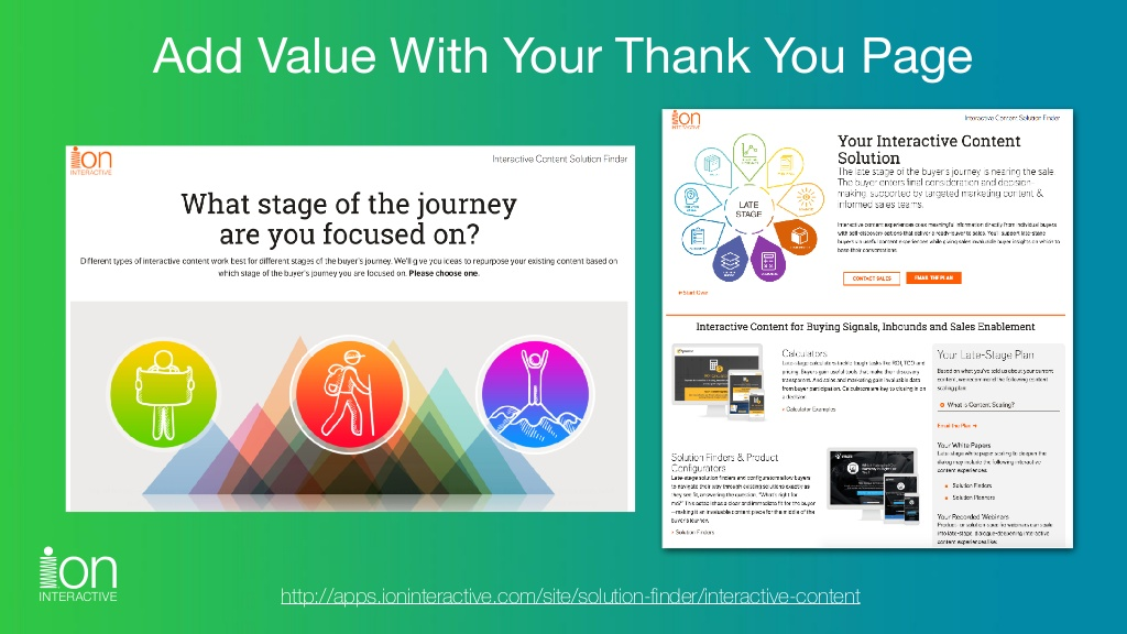 Click the image to explore the interactive experience and Thank You page.