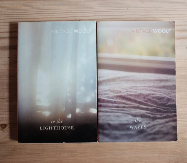 Which one of these would you take for a week on an island with both waves and a lighthouse? #virginiawoolf
