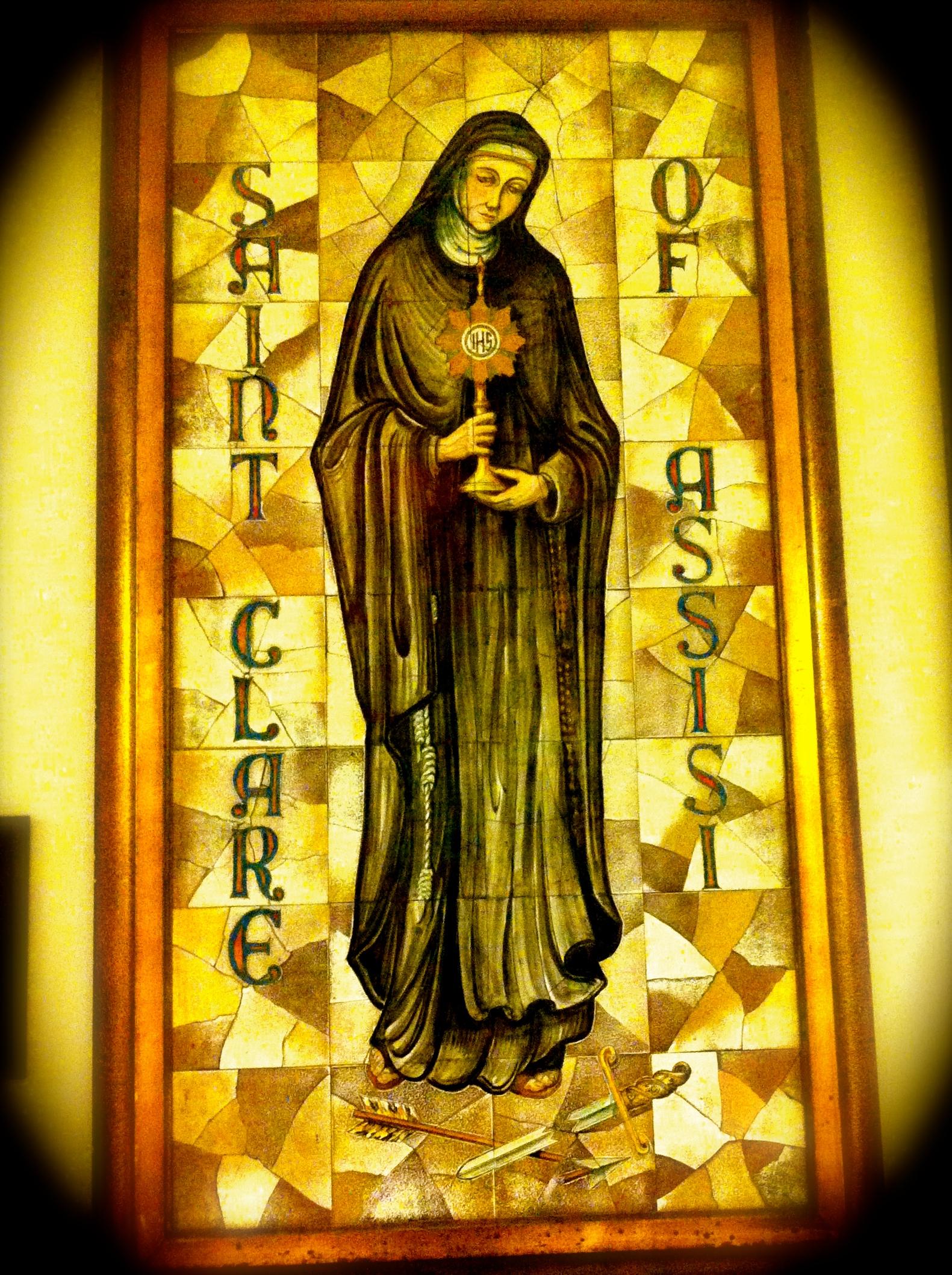 photo by Peter Damour, Sacristan, St. Clare Parish