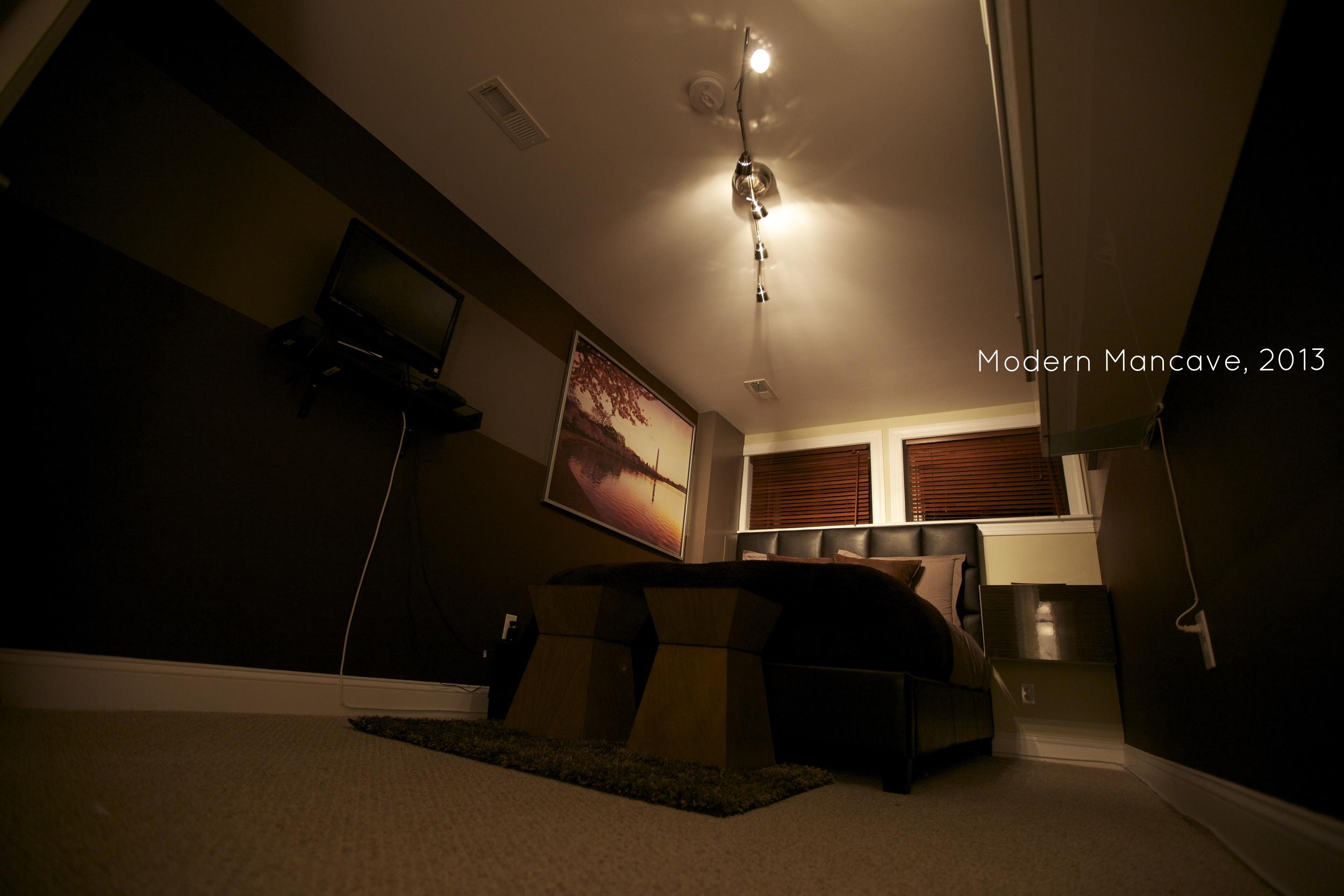The Modern Mancave