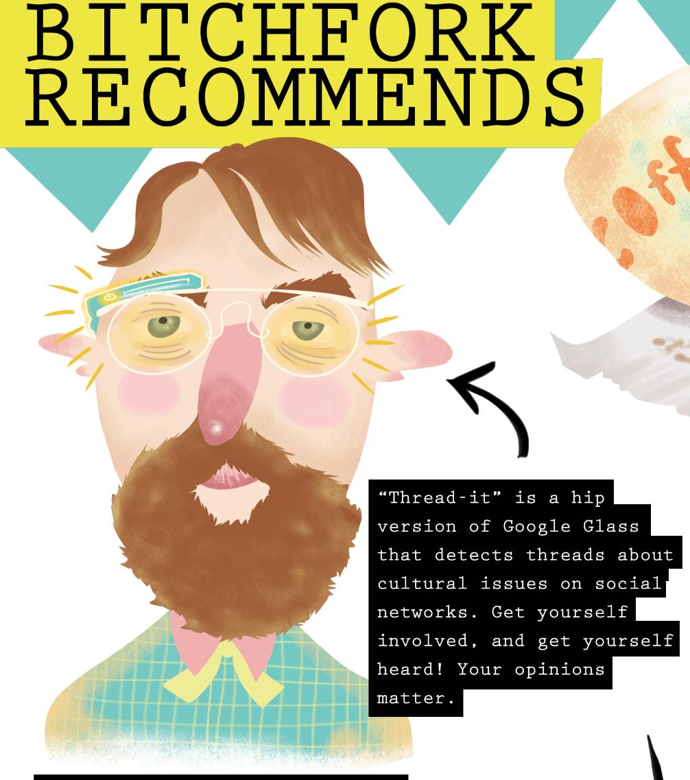 illustration hipster