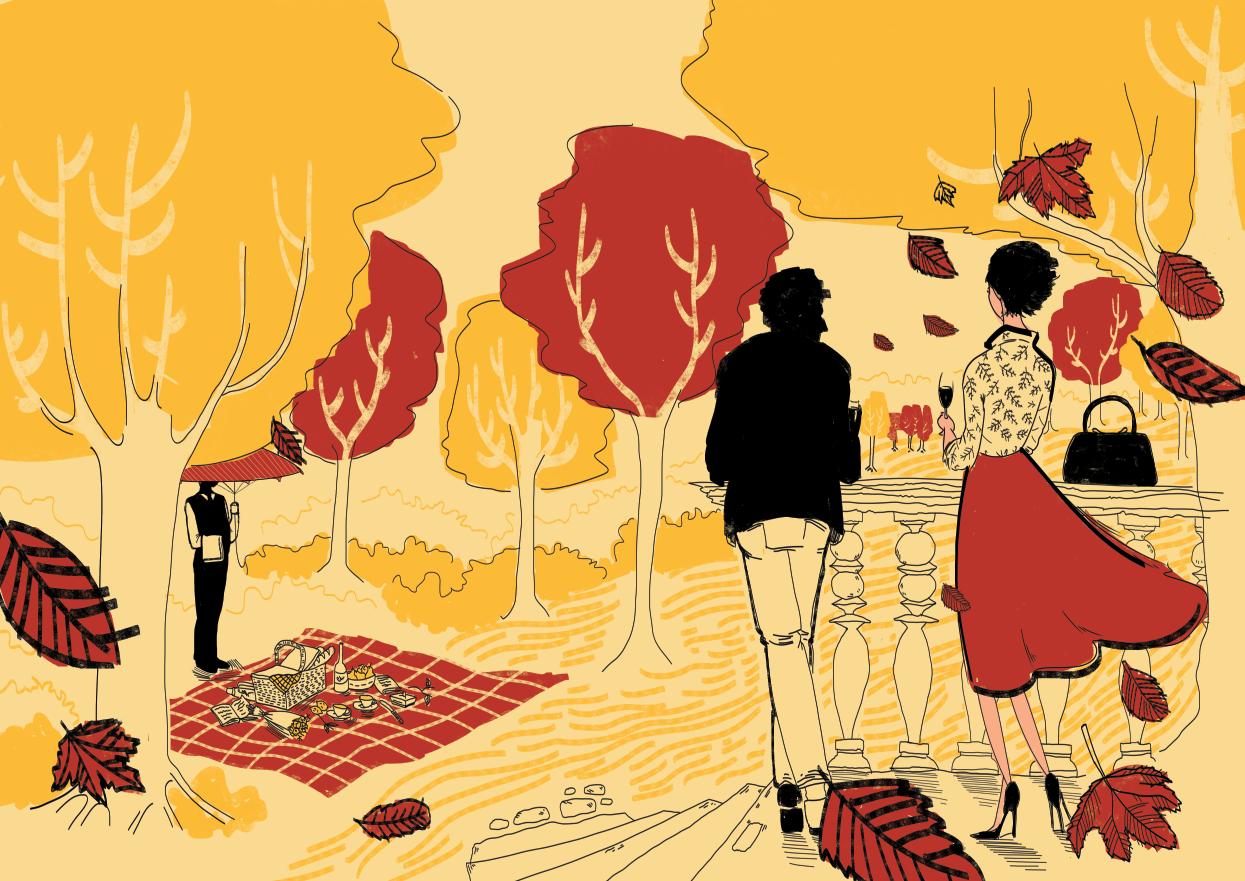 Whole Autumn Illustration
