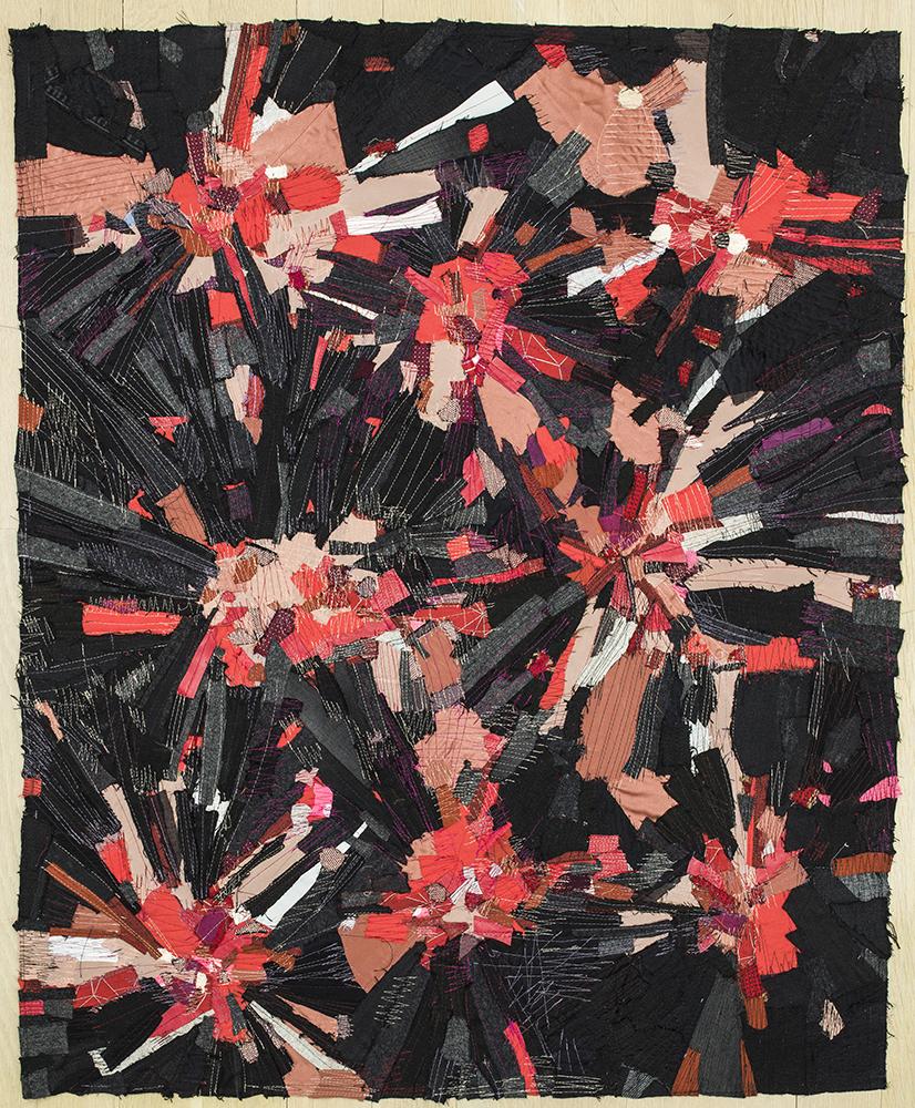 """Fireworks (42""""x33"""")"""