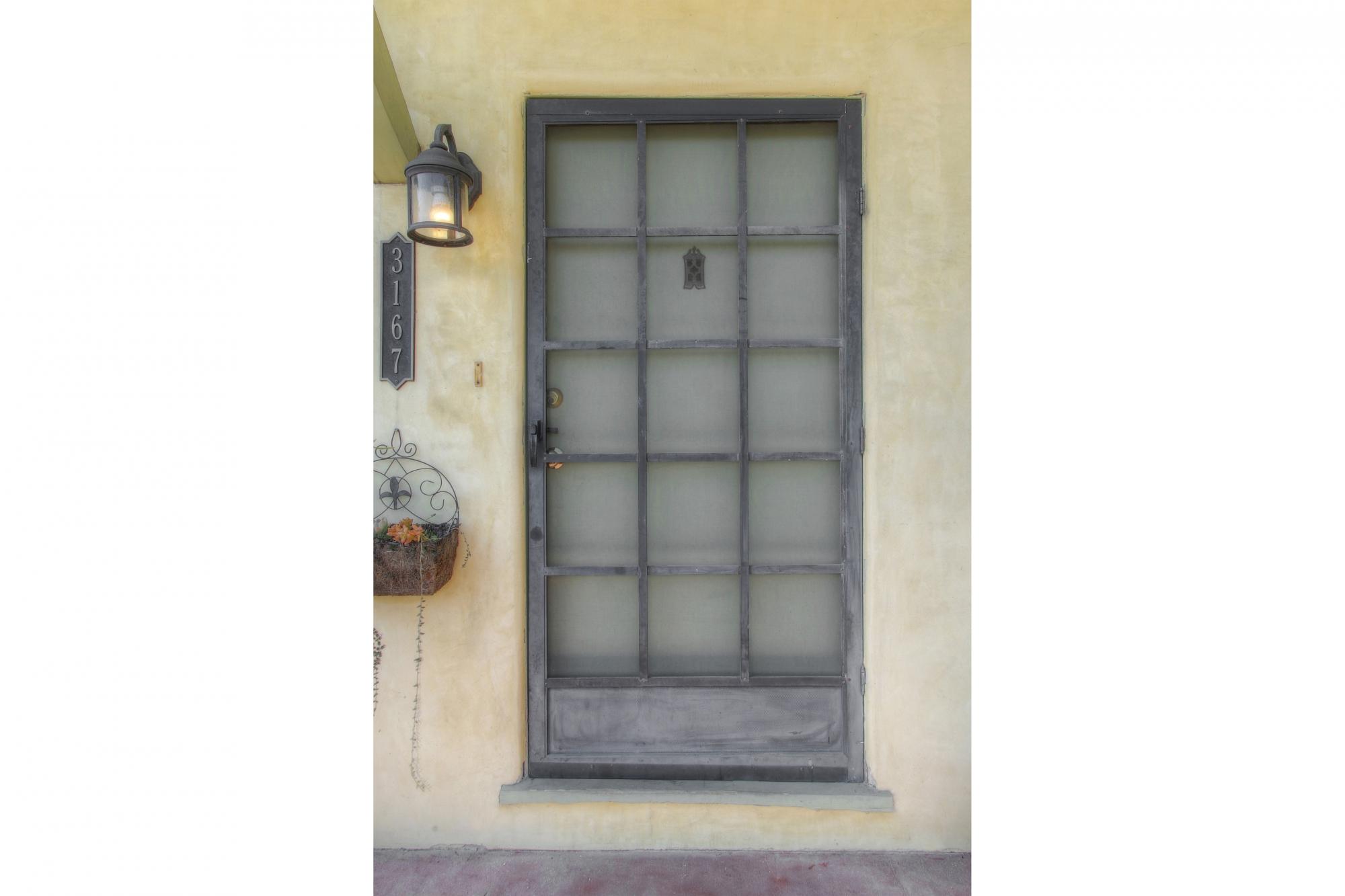 3167 Rowena - Front Door
