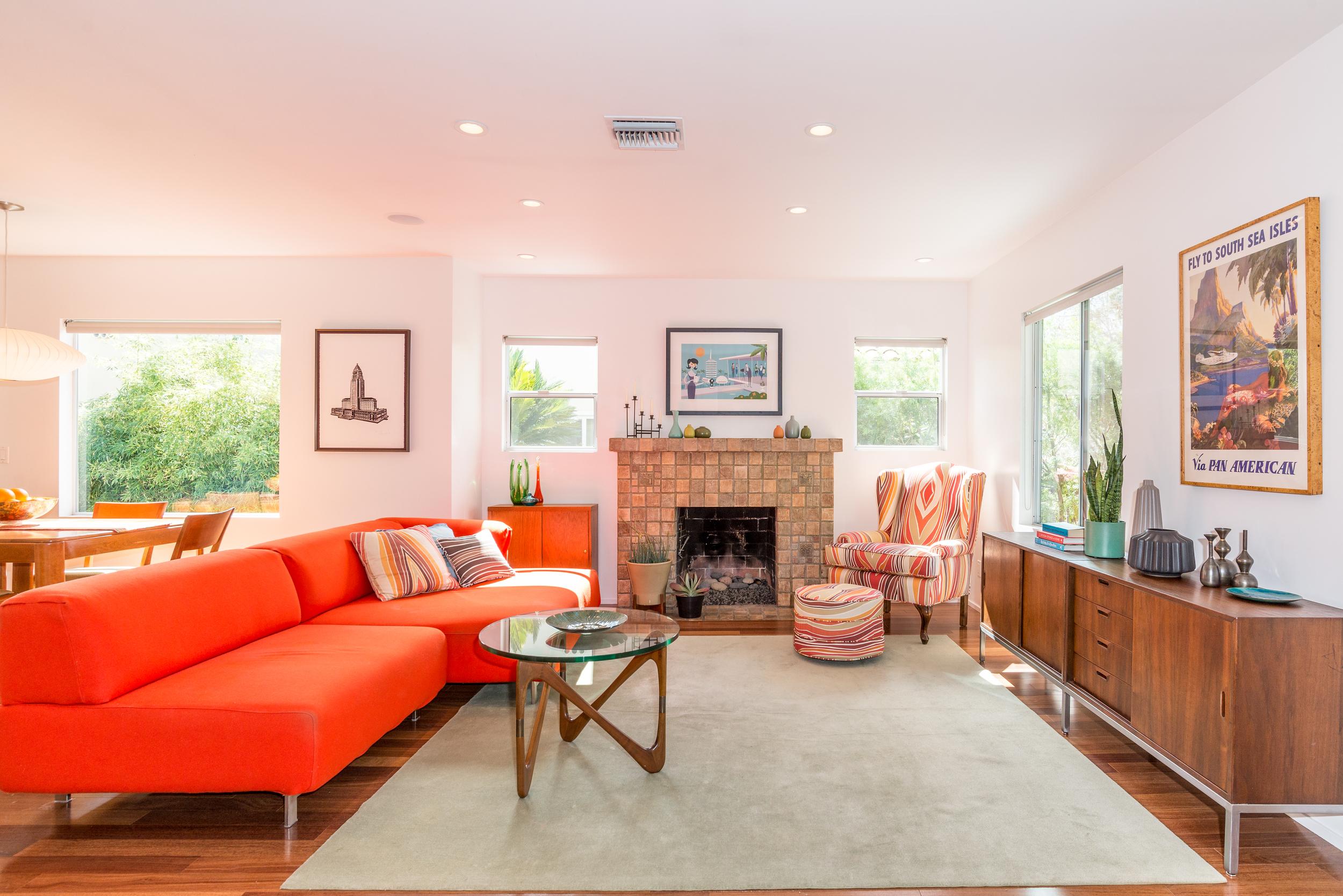 734 Genesee - Living Room