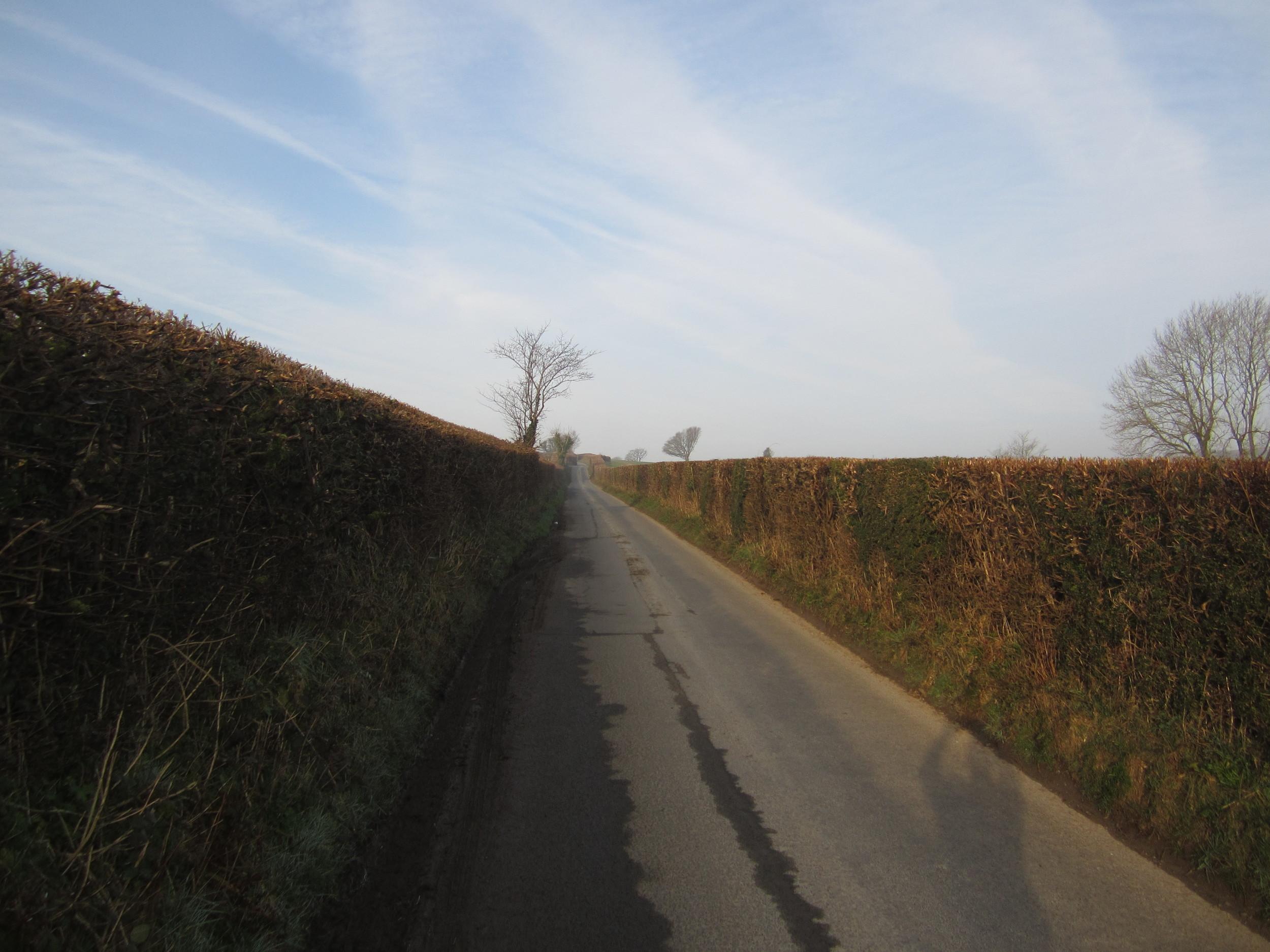 The Road from Kington to Huntington