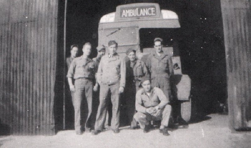 Many wounded stayed on in Kington
