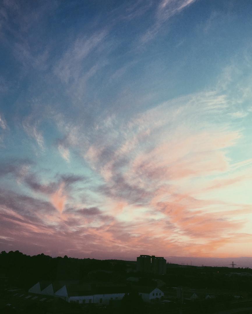 Ipswich sky by Ross Farley