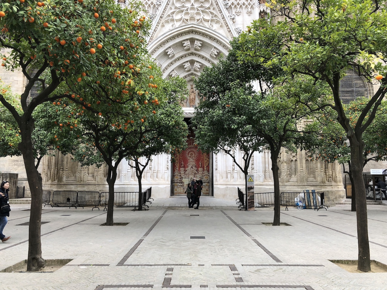Catedral de Sevilla by Ross Farley