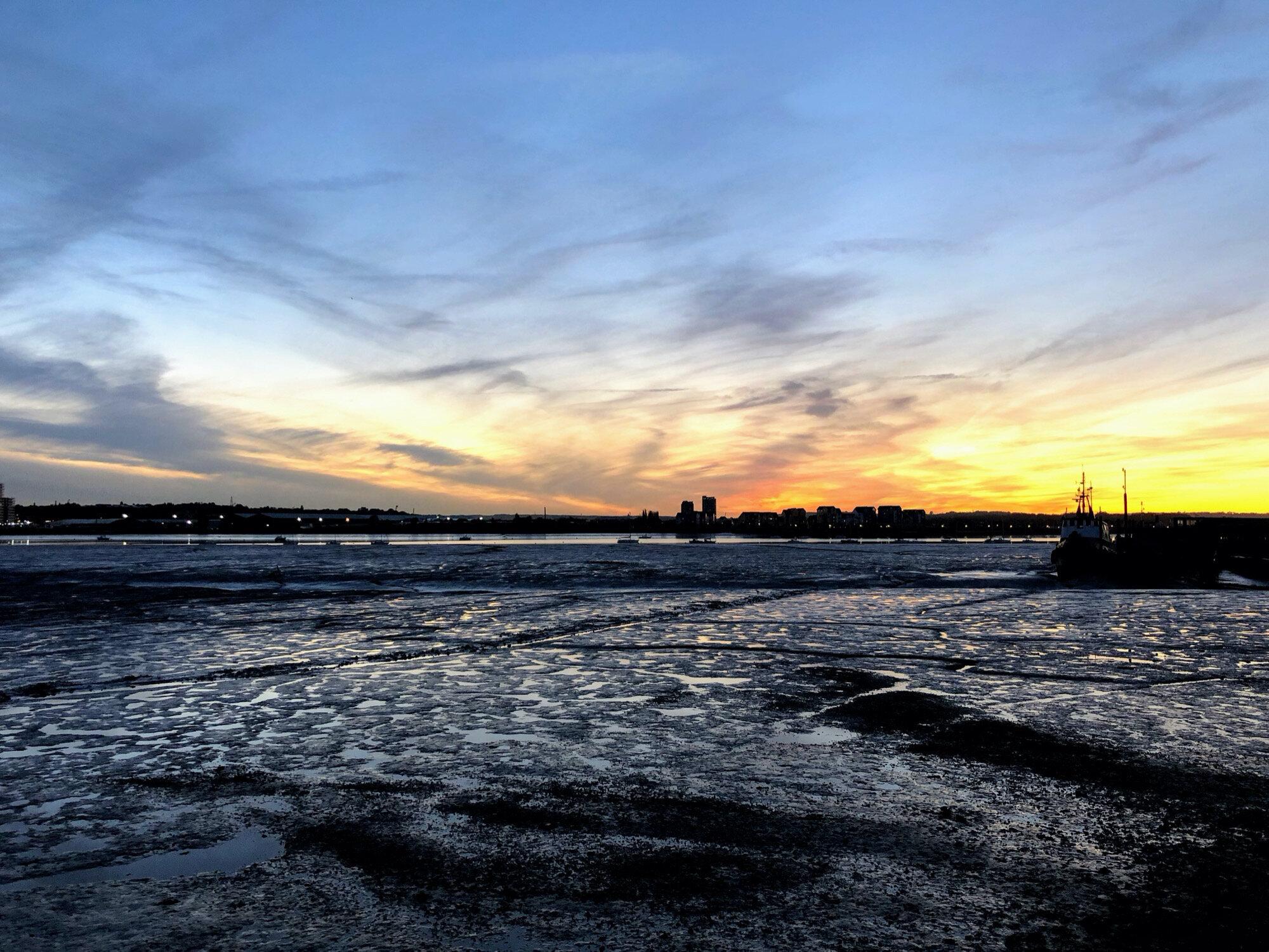 Port Werburgh Sunset by Ross Farley.jpg
