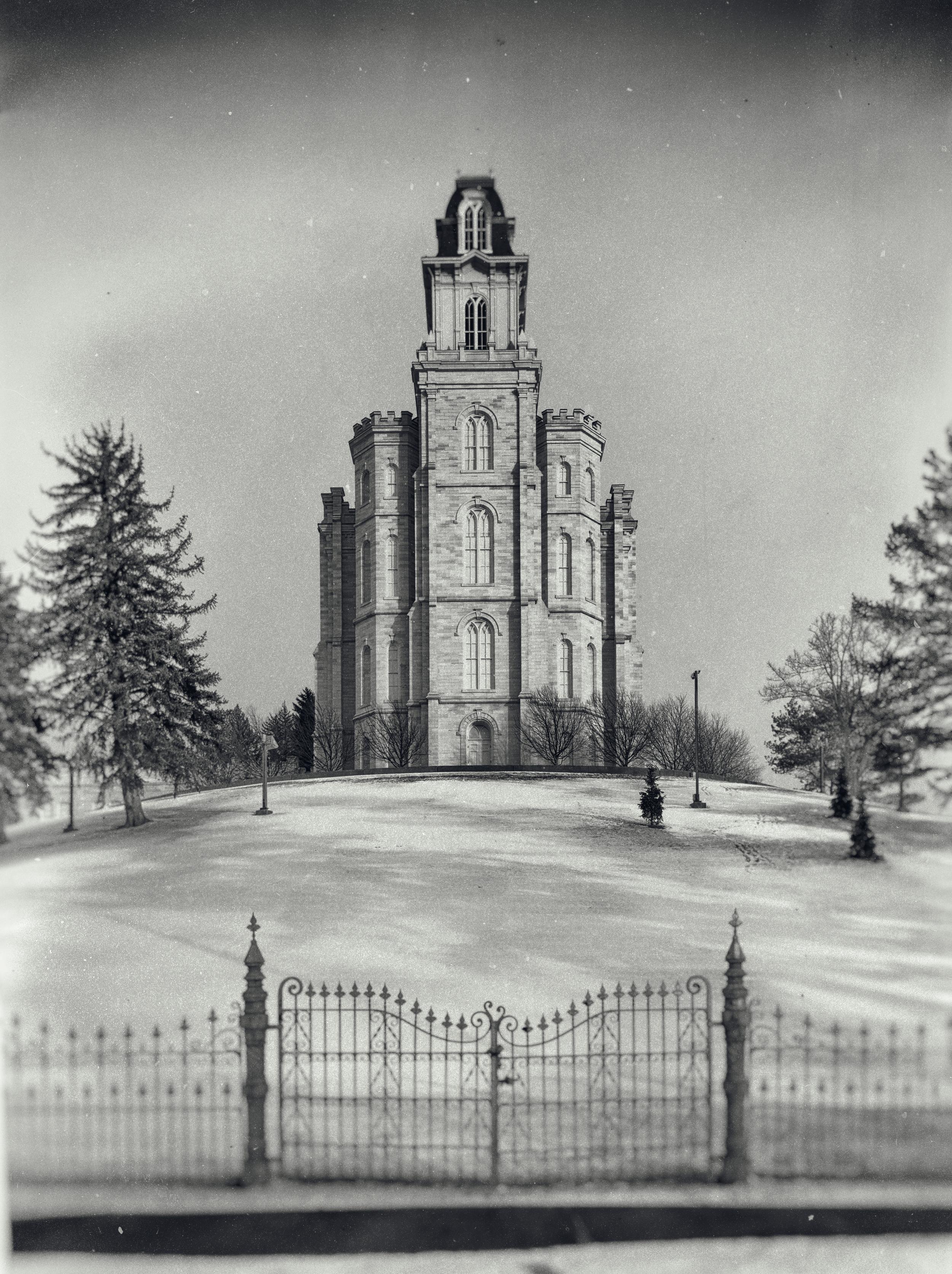 Manti, Utah Temple. Dedicated May 1888.