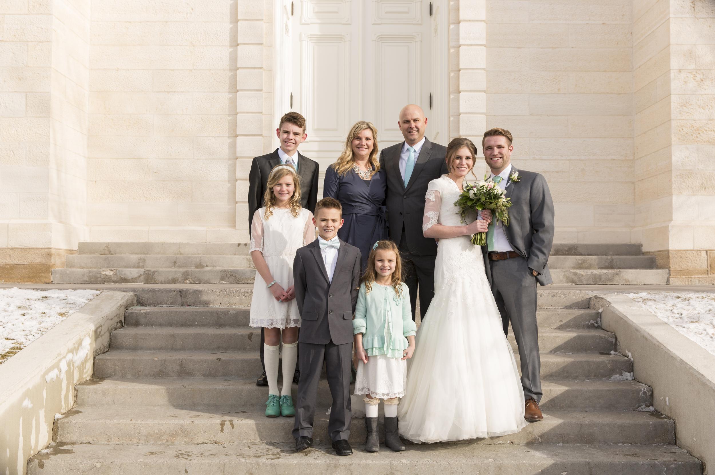 The Mortensen Family