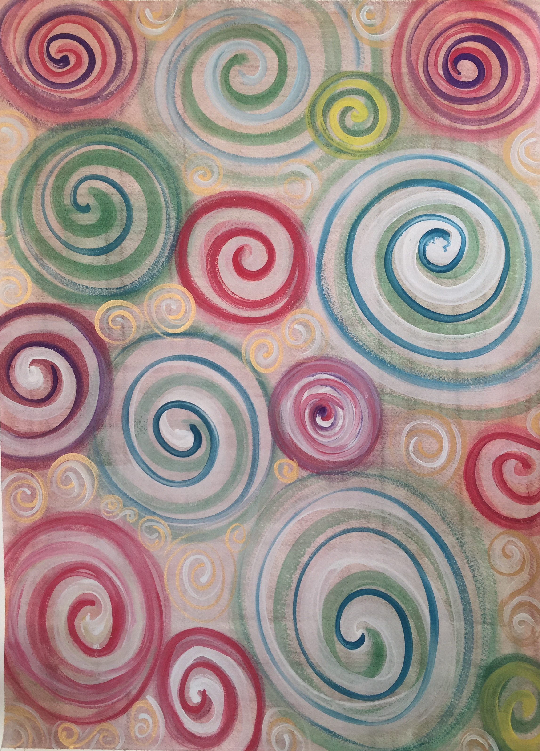 Swirly wrap