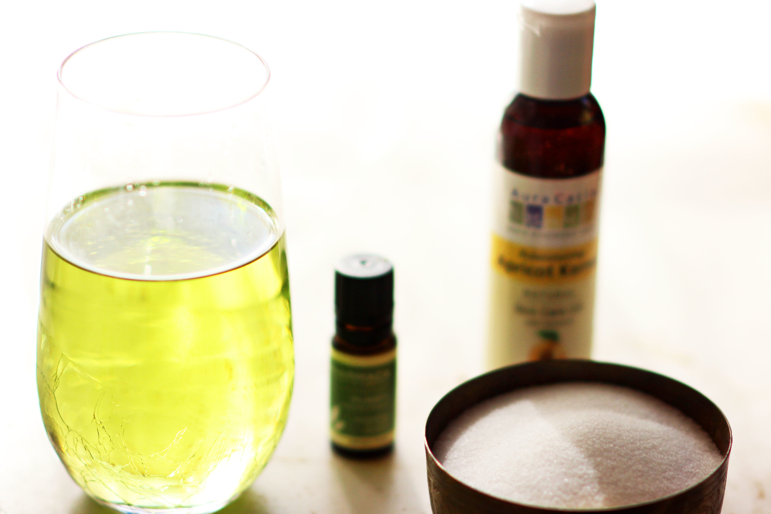 Relaxing DIY Sea Salt And Grape Seed Oil Scrub sweetdisasters.com