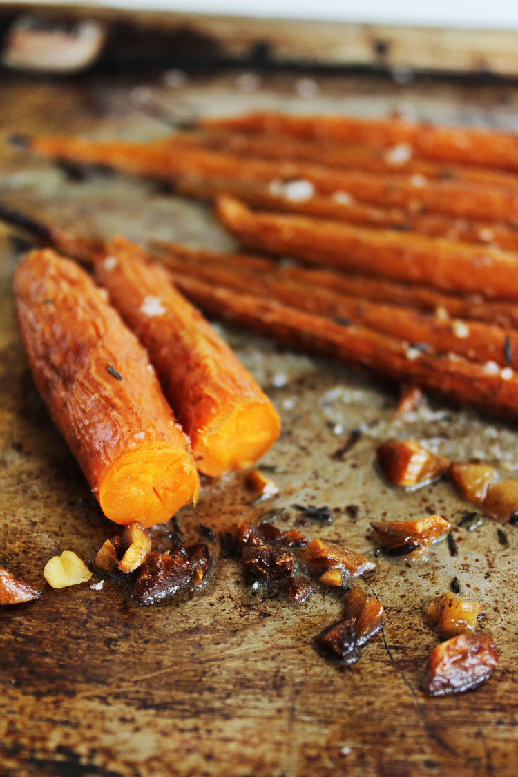 Roasted Garlic Carrots \ Most Popular In January